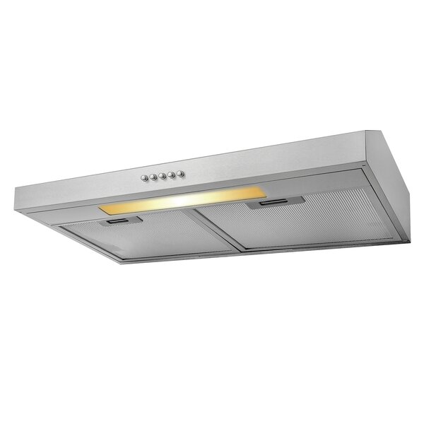 24 58 CFM Convertible Under Cabinet Range Hood by AKDY