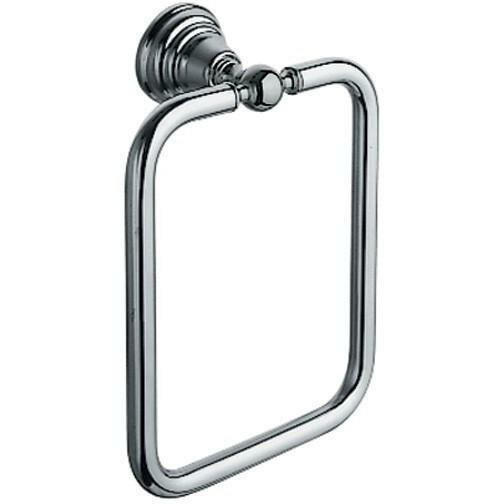 Hunnicutt Wall Rectangular Towel Ring by Alcott Hill