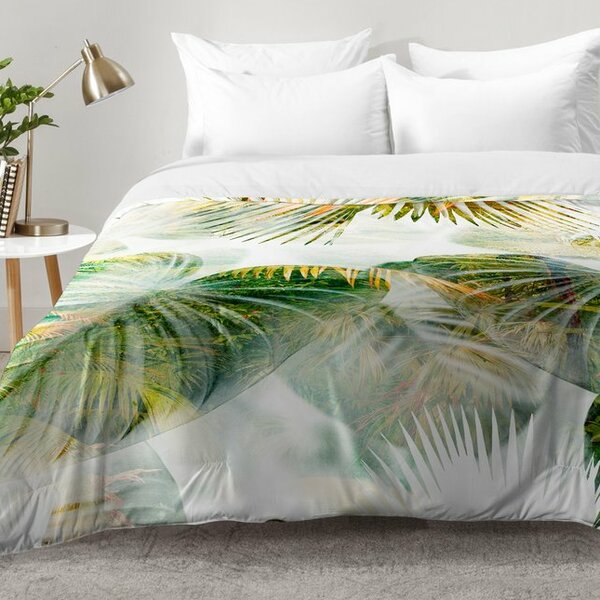 Tropical Lush Comforter Set by East Urban Home