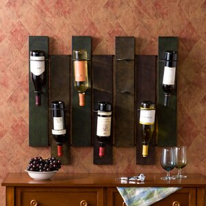 Arakaki 7 Bottle Wall Mounted Wine Rack by World Menagerie