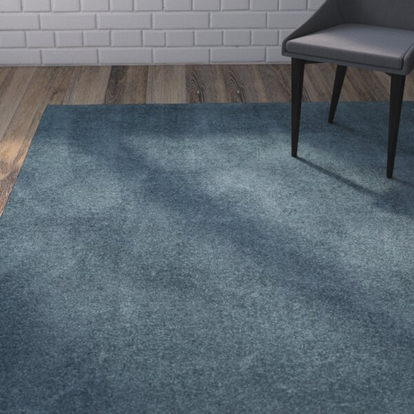 Blackstock Light Blue Area Rug by Mercury Row