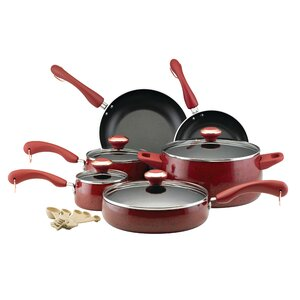 15 Piece Porcelain Non-Stick Cookware Set