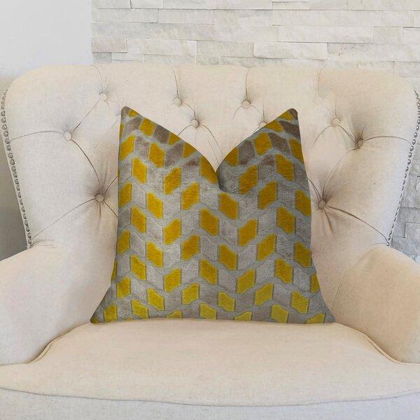 Velvet Rope Handmade Throw Pillow by Plutus Brands
