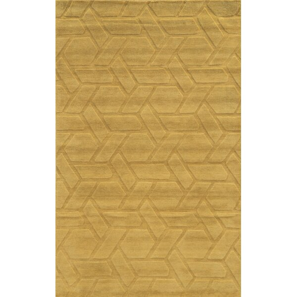 Venice Hand-Loomed Beige Area Rug by Meridian Rugmakers