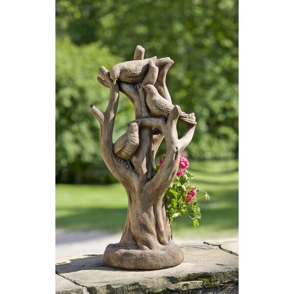 Cast Stone Statue Planter by Campania International