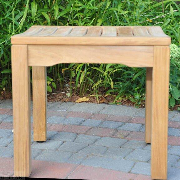 Teak Rosemont Backless Garden Bench by Regal Teak Regal Teak