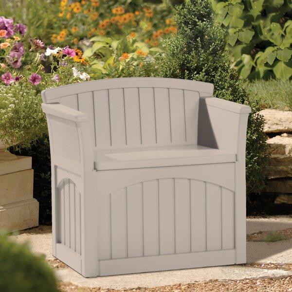 Resin Storage Bench by Suncast Suncast