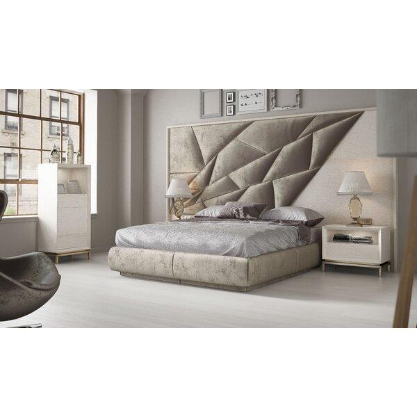 London King Upholstered Platform Bed By Hispania Home
