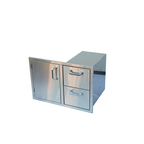 18.25 W Double Storage Cabinet by The Outdoor GreatRoom Company