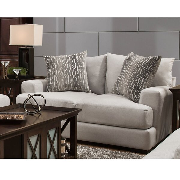 Get Name Brand Jesup Loveseat by Latitude Run by Latitude Run