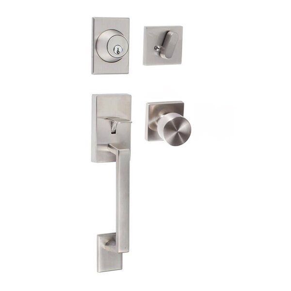 Koln Single Cylinder Entrance Handleset by Sure-Loc Hardware