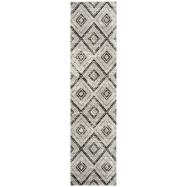 Coghill Gray Area Rug by Wrought Studio