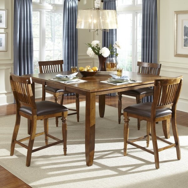 Delphina 5 Piece Counter Height Dining Set By American Heritage Read Reviews