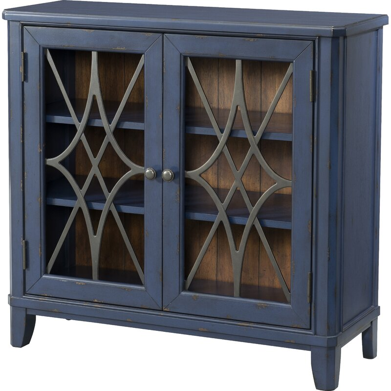 Trisha Yearwood Home Collection Bo 2 Door Accent Cabinet
