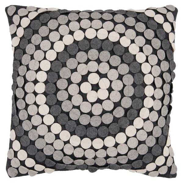 Goodrow Halo Throw Pillow Cover by Mercury Row