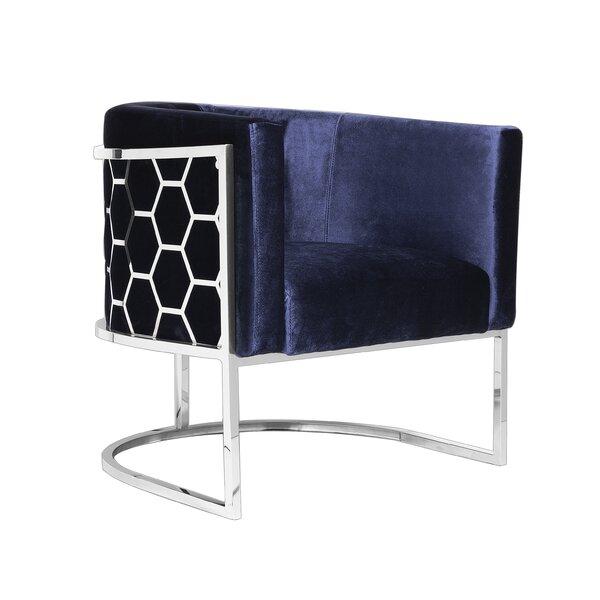 Quesenberry Barrel Chair By Everly Quinn