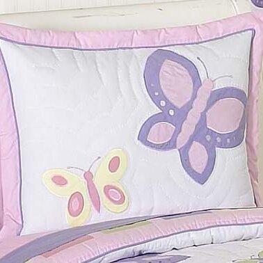 Butterfly Pillow Sham by Sweet Jojo Designs