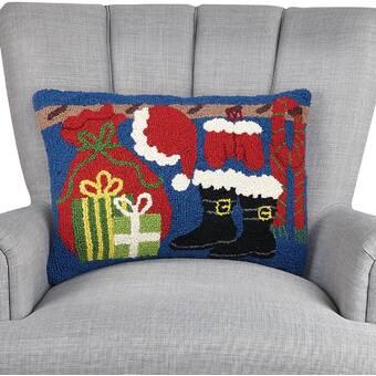 The Holiday Aisle Pierrette Wool Throw Pillow Wayfair