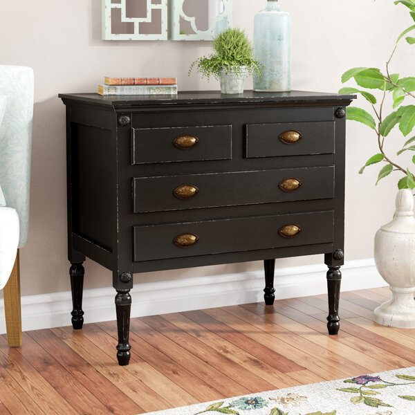 Easterbrook 4 Drawer Accent Chest by Birch Lane™ Heritage