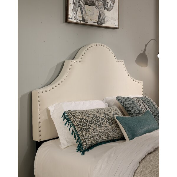 Hopson Upholstered Panel Headboard by Charlton Home