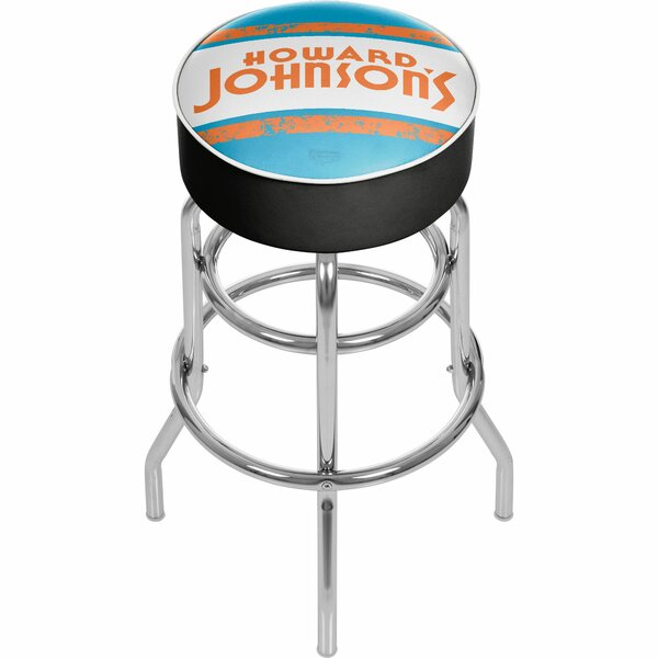 Howard Johnson 31 Swivel Bar Stool by Trademark Global