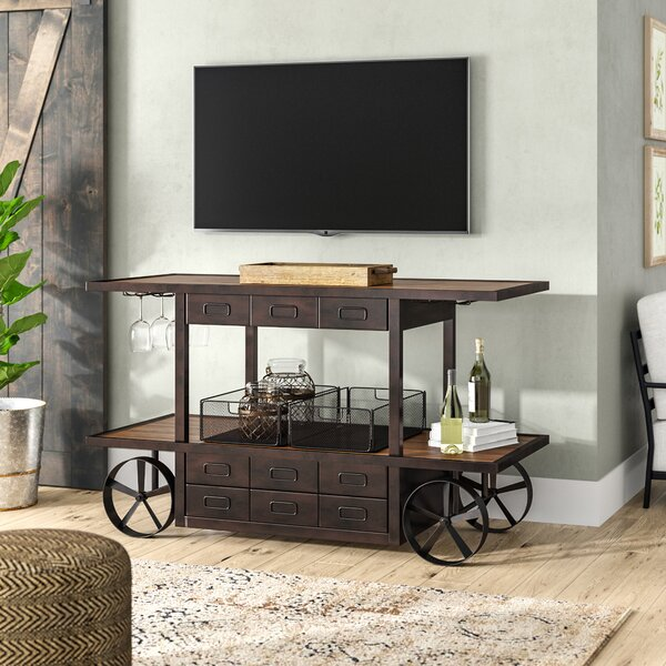 Aspremont Solid Wood TV Stand For TVs Up To 70
