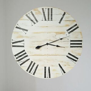 Extra Large Decorative Wall Clocks oversized wall clocks you'll love | wayfair