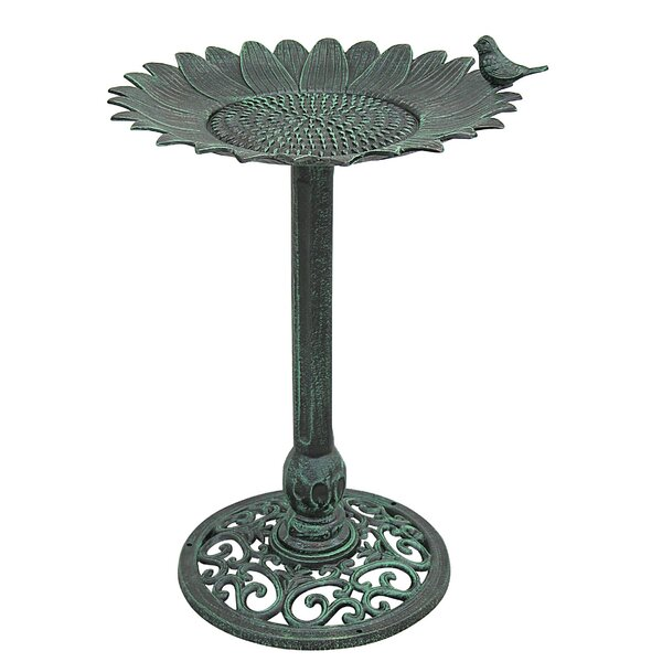 Sunflower Birdbath by Innova Hearth and Home