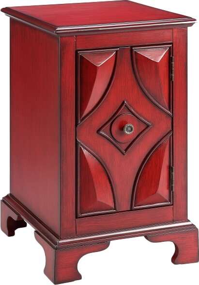 Kane Cabinet 1 Door Accent Cabinet by World Menagerie