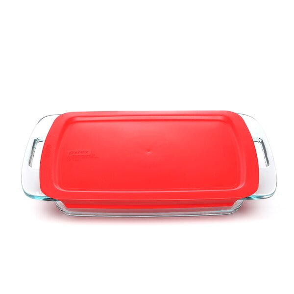 Easy Grab Oblong 4 Piece Bakeware Set by Pyrex