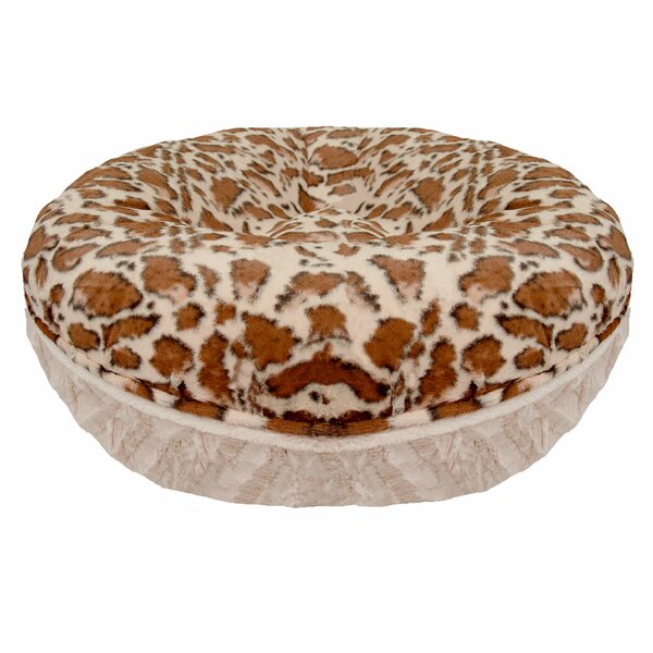Bagel Giraffe Natural Beauty Bolster by Bessie and Barnie