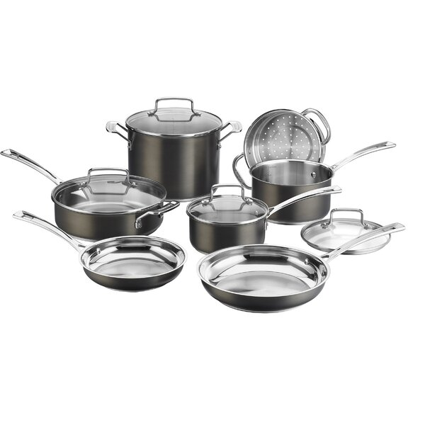 11 Piece Stainless Steel Cookware Set by Cuisinart