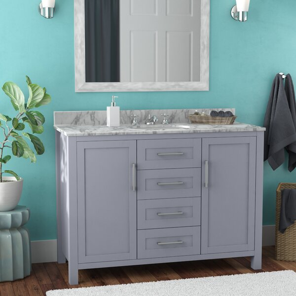 Hodgin 48 Single Bathroom Vanity by Latitude Run