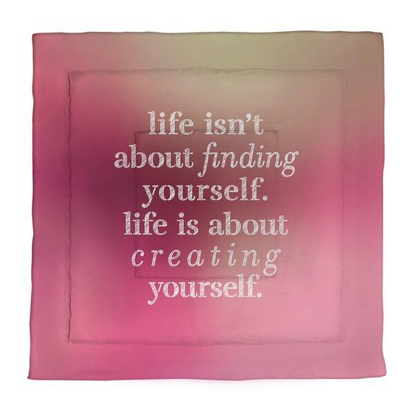 Creating Yourself Single ReversibleComforter