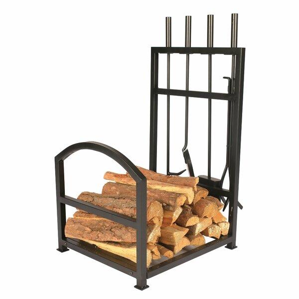 Iron Firewood Log Rack By 1. GO