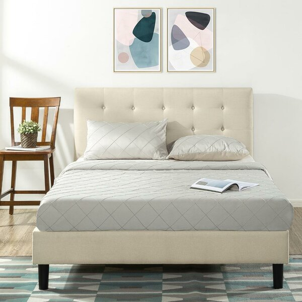 Collins Upholstered Platform Bed by Alwyn Home