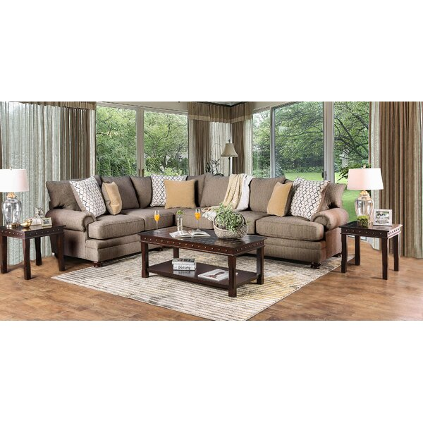 Deshields Symmetrical Sectional By Darby Home Co