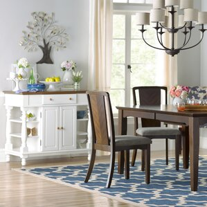 Harborcreek Extendable Dining Table by Three Posts