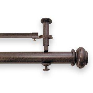 Christian Adjustable Double Curtain Rod