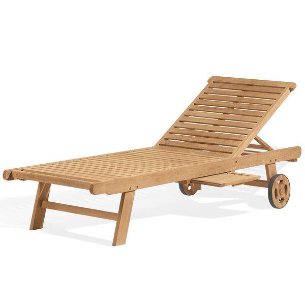 Myler Reclining Chaise Lounge by Beachcrest Home Beachcrest Home