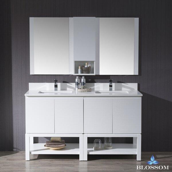 Maly 61 Double Bathroom Vanity Set by Orren Ellis