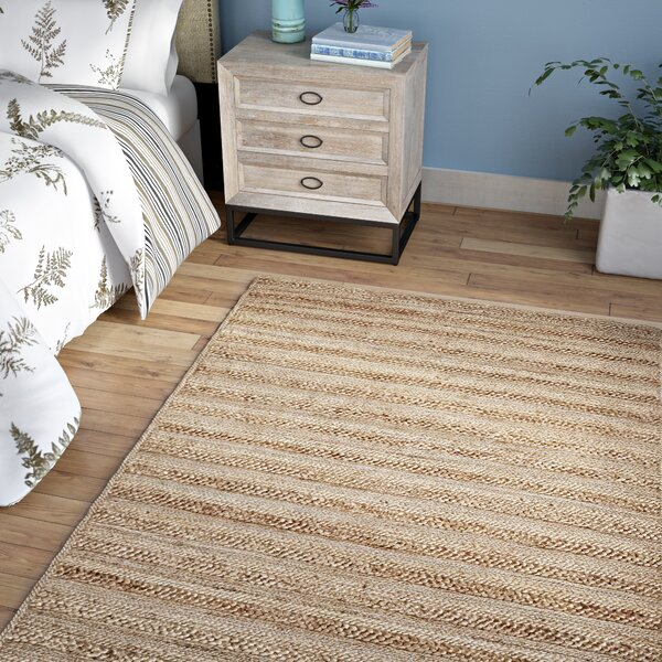 Kingfield Hand-Woven Natural Area Rug by Laurel Foundry Modern Farmhouse