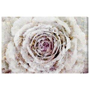 'Winter New York Flower' Graphic Art Print by Willa Arlo Interiors