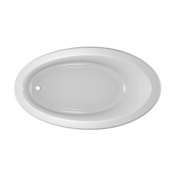 Riva Bath 66 L x 38 W Drop In Soaking Bathtub by Jacuzzi®