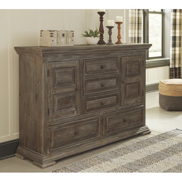 Harmoni 5 Drawer Double Dresser by Millwood Pines
