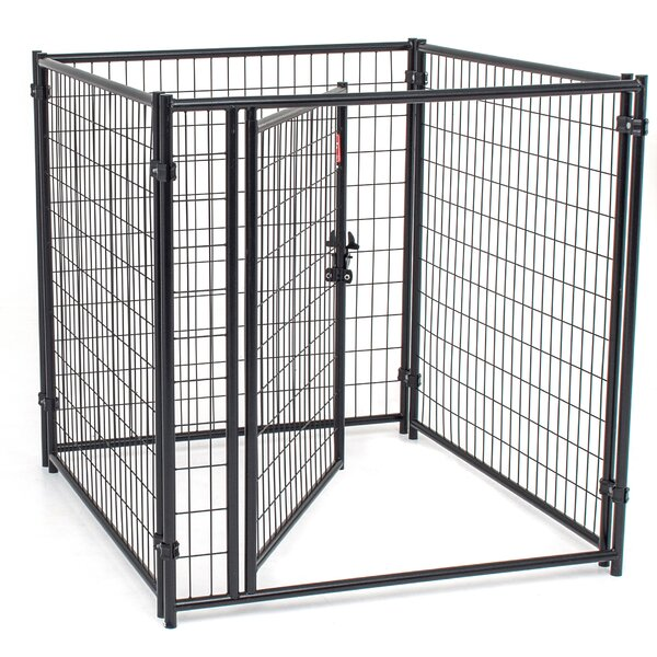 Lucky Dog™ Modular Welded Wire Kennel Kit by Jewett Cameron