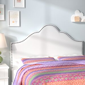 Carly Upholstered Panel Headboard by Viv + Rae