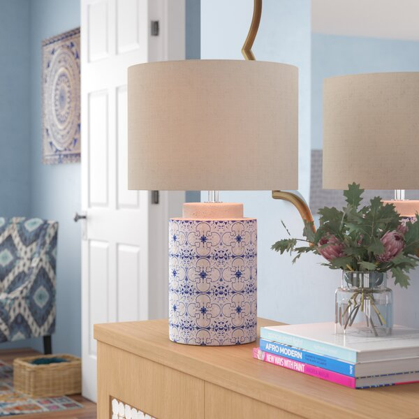 Hailie Ceramic 18 Table Lamp  by Mistana