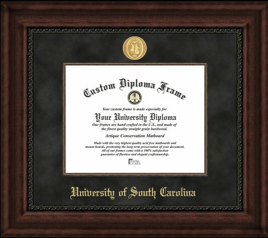 NCAA University of South Carolina Executive Diploma Picture Frame by Campus Images