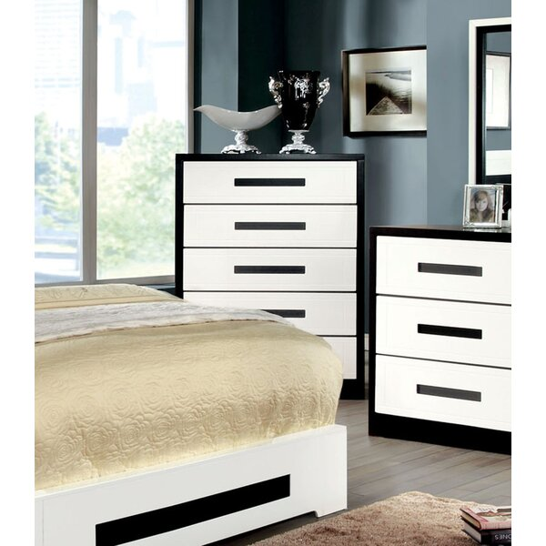 Verzaci 5 Drawer Chest by Hokku Designs